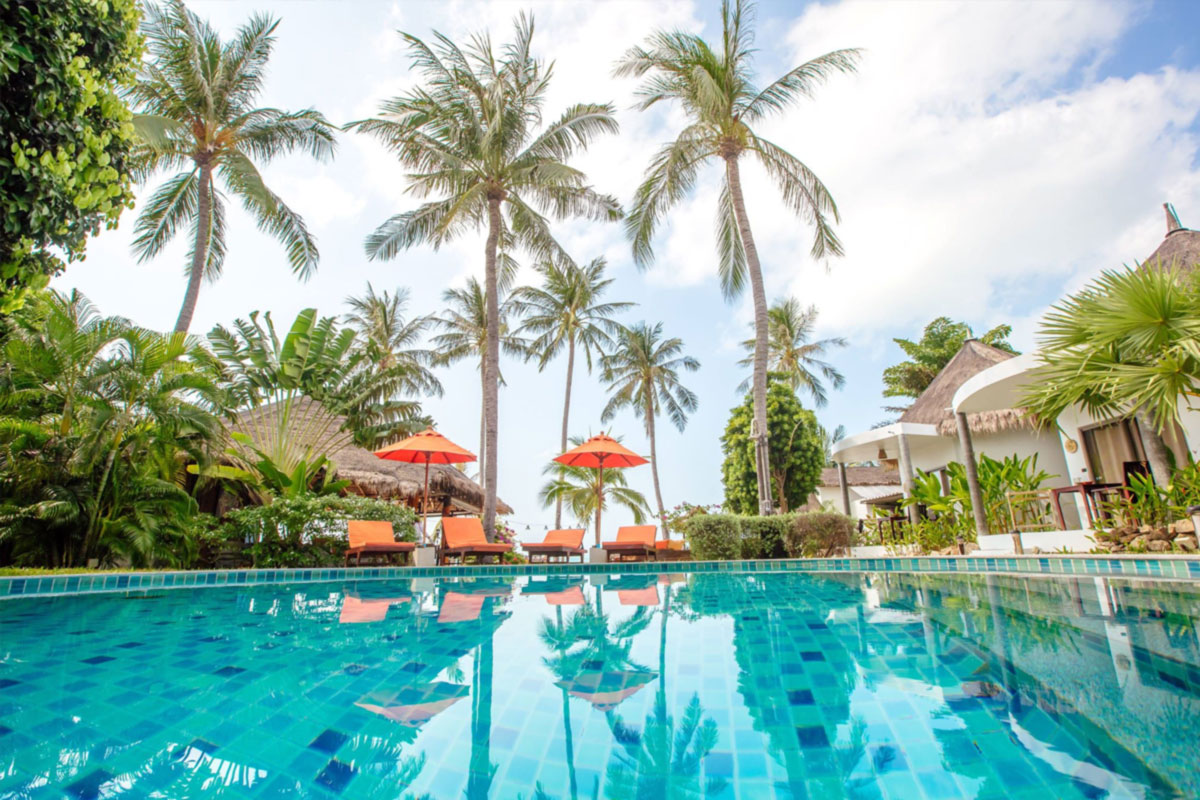 The secret garden beach resort for Pool garden resort argao