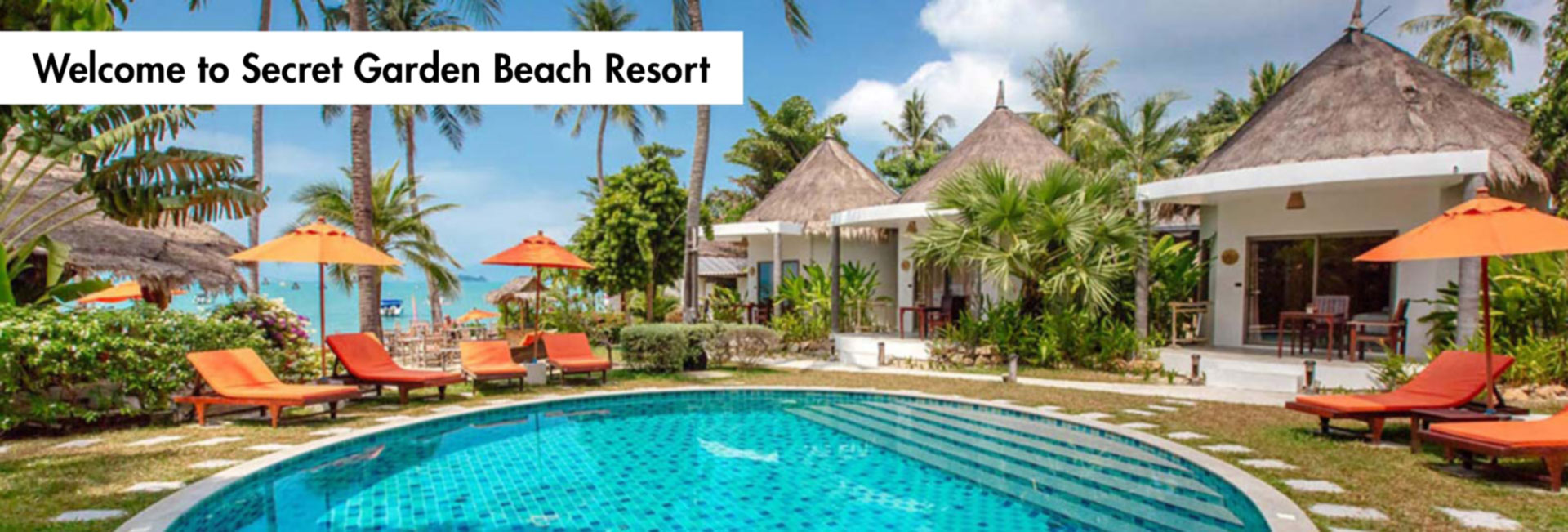 Secret Garden Beach Resort Koh Samui Thailand