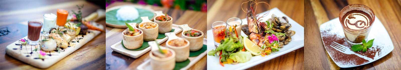 Delicious Food Choices at Secret Garden Beach Resort